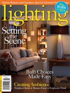 lighting magazine cover