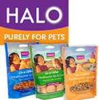 free halo pet food