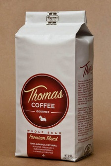 thomas coffee sample