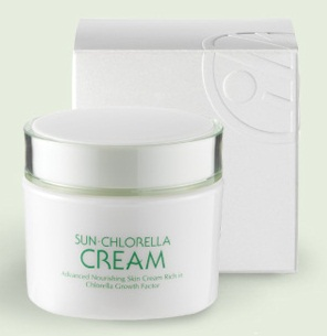 free sun chlorella cream