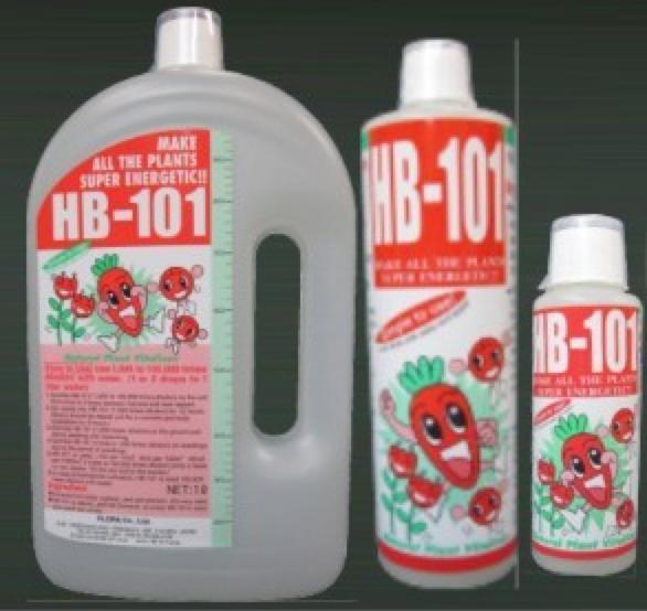 Hb-101 - рідина, отримана з суміші витяжок високоенергетичних рослинних компонентів японського кедра, кипариса